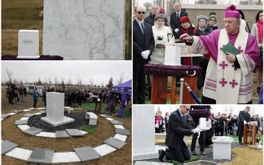 Szczecin: Pierwszy pogrzeb dzieci utraconych [ZDJĘCIA, WIDEO]