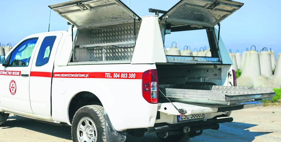 Ratownictwo wodne Darłowo potrzebuje pieniędzy m.in. na wyposażenie ratownicze (m.in. deska ratownicza i defibrylator)