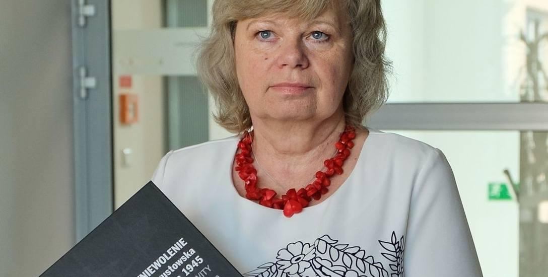 Dr Ewa Rogalewska jest redaktorem albumu o Obławie Augustowskiej - zbrodni z lipca 1945 r., kiedy Sowieci zamordowali około 600 osób