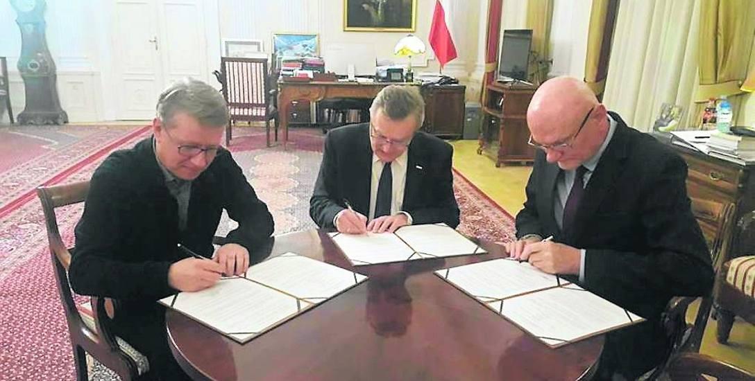 W grudniu 2017 roku Marek Żydowicz, minister Piotr Gliński oraz prezydent Michał Zaleski podpisali list intencyjny w sprawie budowy na toruńskich Jordankach