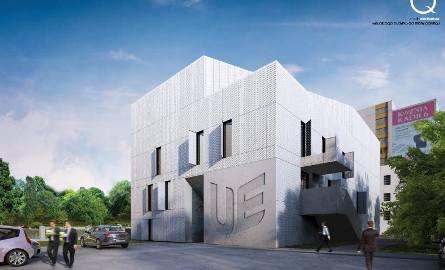 Budynek O - wizualizacja