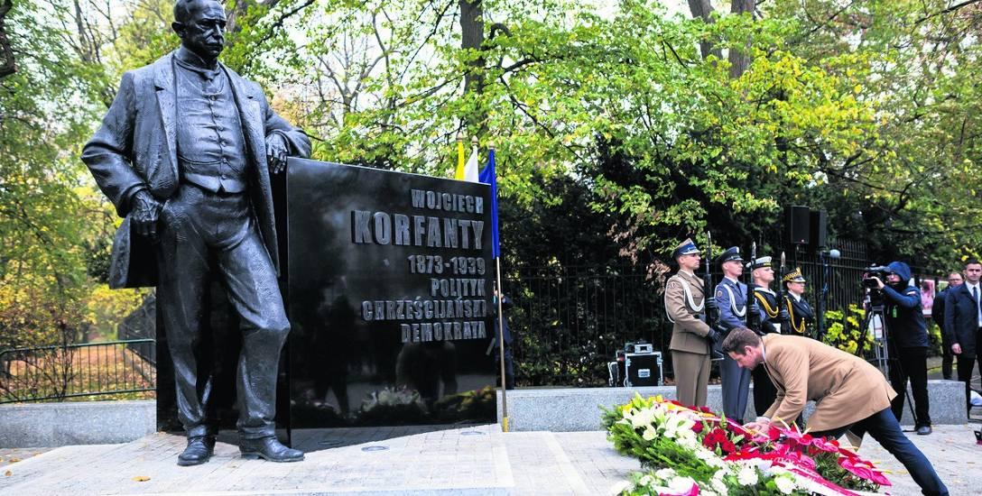 Wojciech Korfanty - pomnik w Warszawie