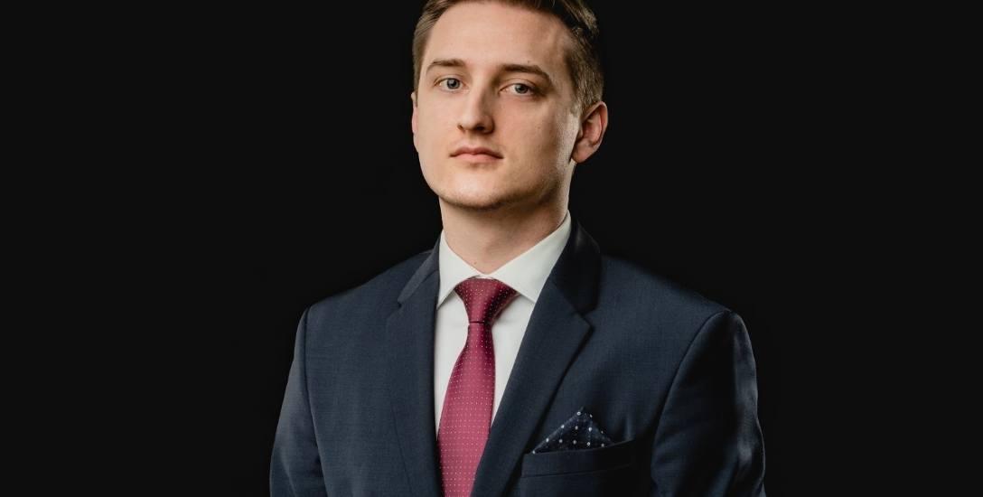 Mateusz Miłek, aplikant adwokacki, Toruń.