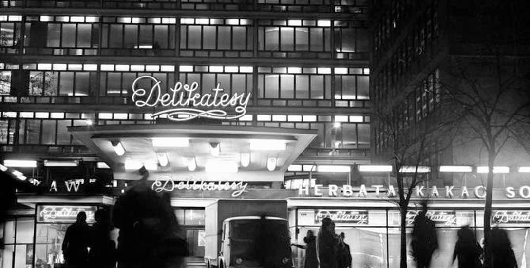 """Pachnący świat """"Delikatesów"""" - miały zwiastować powrót do przedwojennych czasów z dobrze zaopatrzonymi sklepami"""