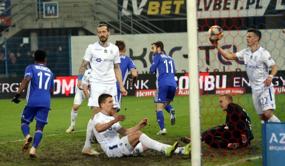 Film do artykułu: Piotr Parzyszek o kuriozalnym golu z meczu z Lechem: Myślałem, że piłka po moim strzale weszła już do bramki