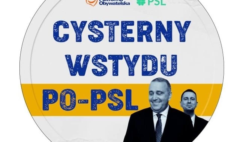 Film do artykułu: Wybory parlamentarne 2019. Cysterny wstydu PO-PSL ruszają w Polskę. Nowa akcja Prawa i Sprawiedliwości. Ciężarówki nie należą do PKN Orlen