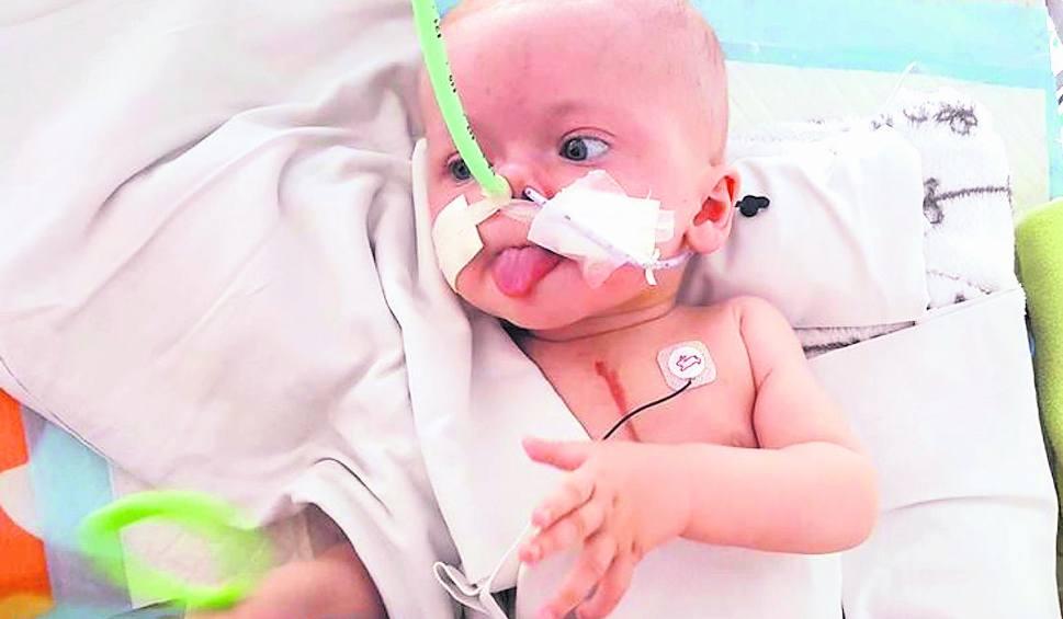 Film do artykułu: Życie malutkiego Noela ma cenę. To 230 tysięcy złotych...