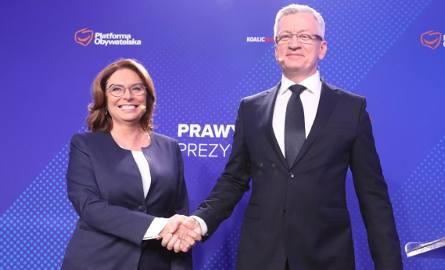 Prawybory prezydenckie z udziałem Małgorzaty Kidawy- Błońskiej i Jacka Jaśkowiaka