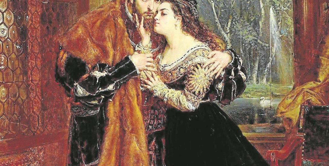 Jan i Teodora jako Zygmunt August i Barbara Radziwiłłówna