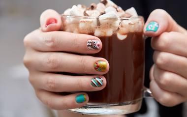 zimowe paznokcie paznokcie na zimę 2020 wzory ispiracje kolory trendy na zimowe paznokcie paznokcie na swieta boze narodzenie