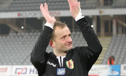 Zbigniew Małkowski dziękuje kibicom za doping