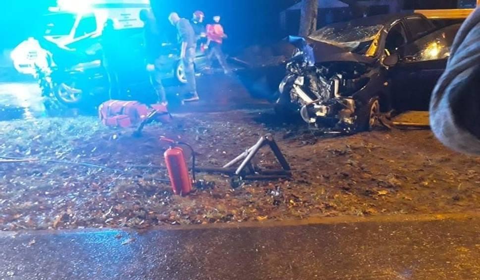 Film do artykułu: Wypadek pod Goleniowem: Śmierć na drodze. Kierowca bmw był pijany [ZDJĘCIA]