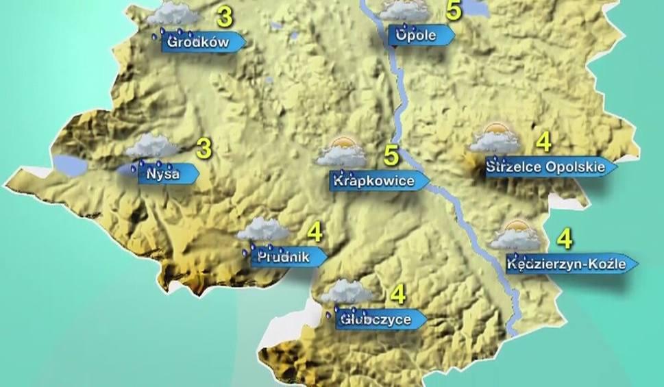 Film do artykułu: Pogoda w Opolu i na Opolszczyźnie. Będzie zimno i deszczowo!