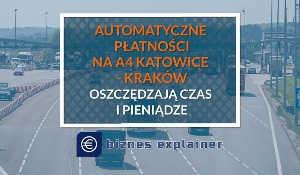 Film do artykułu: Tańsze i wygodniejsze przejazdy A4 Katowice-Kraków z aplikacją Autopay lub elektronicznym poborem opłat A4Go i Telepass. Oszczędź nawet 30%!
