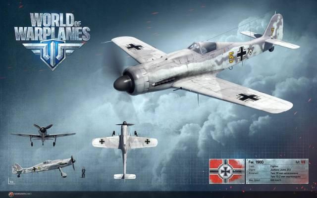 World of Warplanes: Focke-Wulf już leci (galeria)