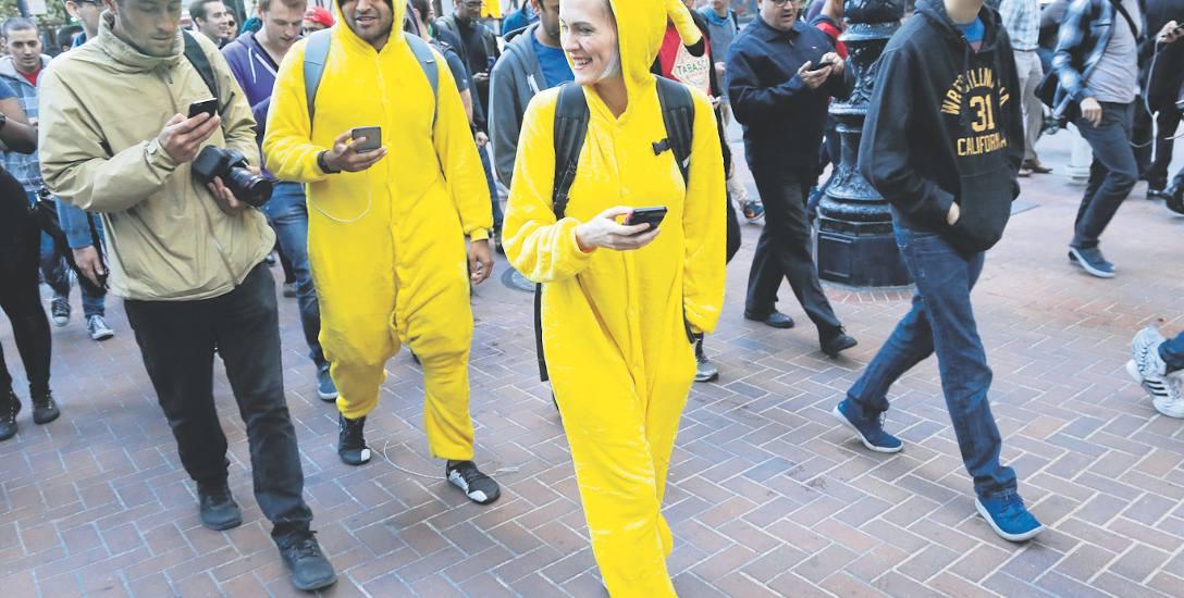 Pokémonowe szaleństwo, czyli złap je wszystkie. Fenomen gry na smartfony