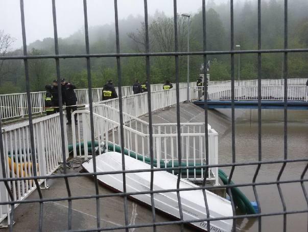 Ewakuacja w Wilkowicach