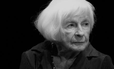 Nie żyje aktorka Danuta Szaflarska. Miała 102 lata [WIDEO]
