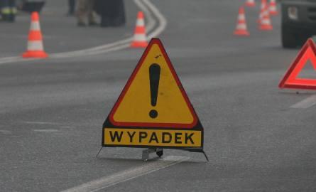Wypadek na DK 81 w Pawłowicach. Dwie osoby ranne