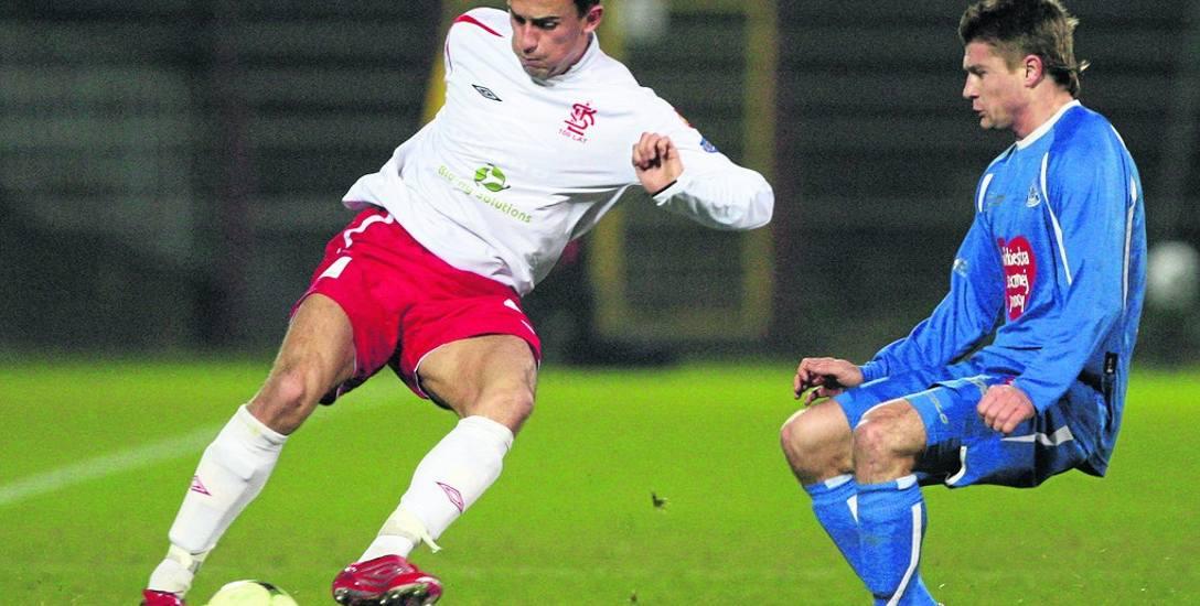 Tomasz Ostalczyk przed przyjazdem do Świnoujścia miał już zaliczonych 12 spotkań w ekstraklasie w drużynie ŁKS. Trzy razy mecze zaczynał jako zawodnik