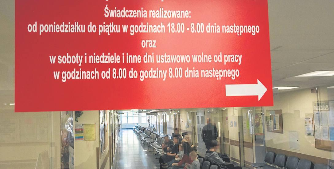 Od początku października to szpital prowadzi tzw. nocną opiekę chorych. Na ostatni kwartał tego roku otrzymał na to od NFZ kwotę 792 tys. złotych.