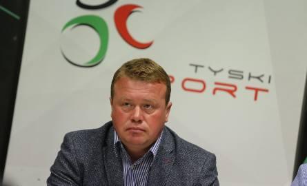 Trener Andriej Gusow w pucharowym debiucie z GKS Tychy musiał przełknąć gorycz porażki
