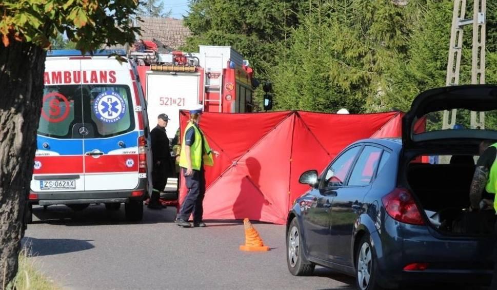 Film do artykułu: Śmiertelny wypadek w Sławsku 26.07.2019. Motocyklista zmarł [ZDJĘCIA, WIDEO]