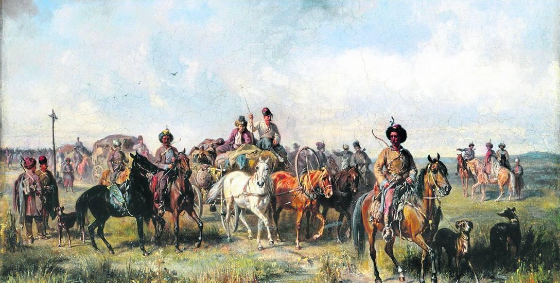 Józef Brandt, Pochód lisowczyków