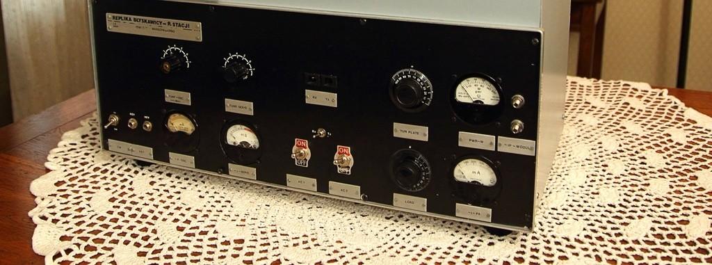 Replika słynnej radiostacji znajduje się dzisiaj w Muzeum Powstania Warszawskiego