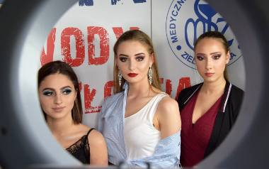 """W piątek, 12 kwietnia, w CKZiU """"Medyk"""" w Zielonej Górze odbył się finał konkursu makijażu pt. """"Makijaż na okładkę Vogue""""."""