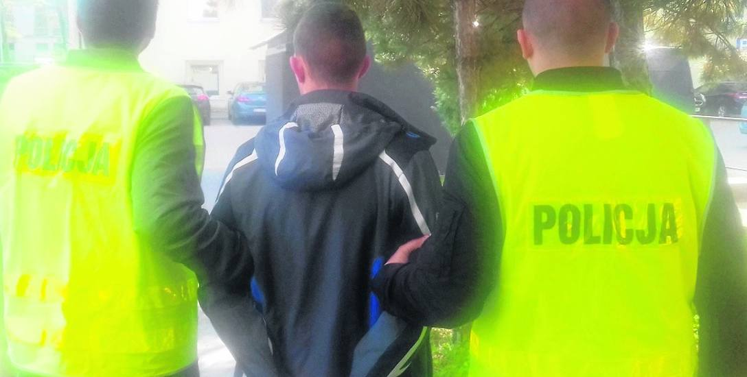 Nieuczciwy 21-latek został zatrzymany przez policjantów z komendy miejskiej.