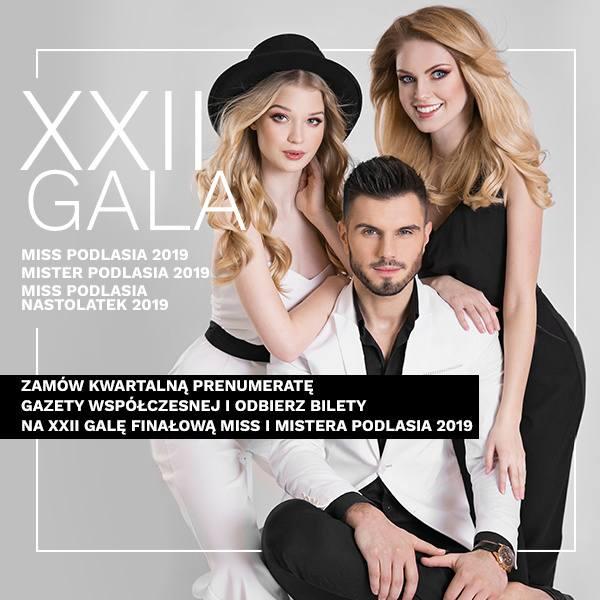 Dwa bilety na Galę Miss i Mistera Podlasia 2019r.