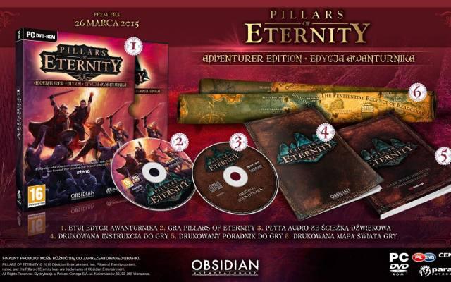 Pillars of Eternity: Edycja Awanturnika na premierę