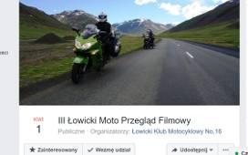 Łowicki Moto Przegląd Filmowy 2017
