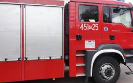 Ponad 200 tysięcy złotych strat w wyniku pożaru