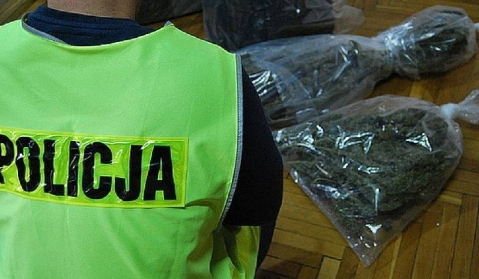Film do artykułu: U 27-latka z Rudnika nad Sanem odnaleźli dwa kilogramy marihuany