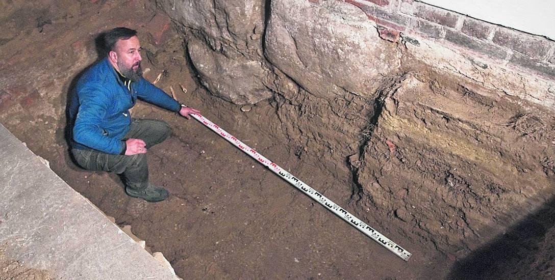Remont w koszalińskiej świątyni to raj dla archeologów
