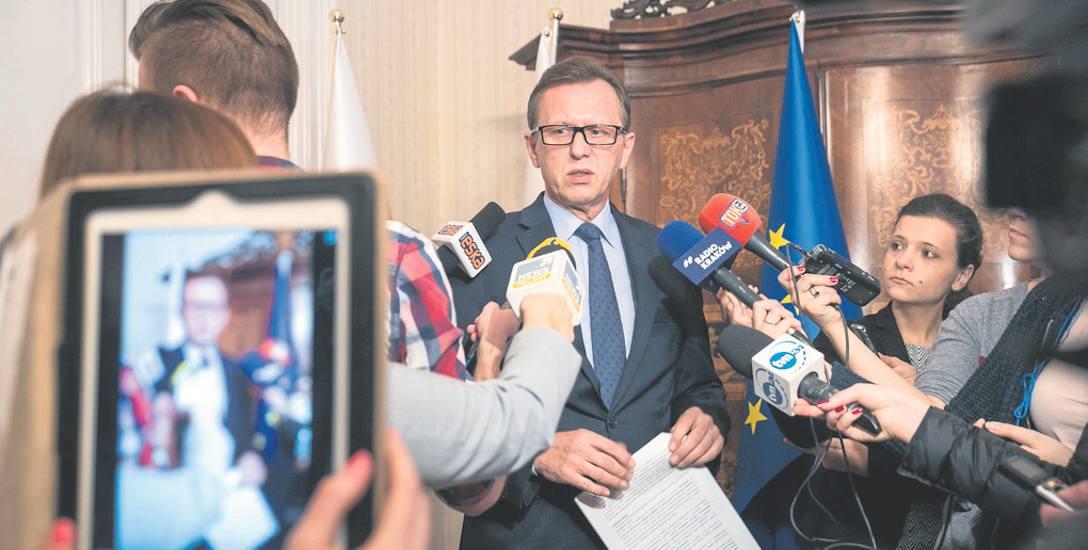 Telewizja Małopolska - marszałek częściej w niej wystąpi