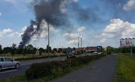 Pożar w Zabrzu-Mikulczycach