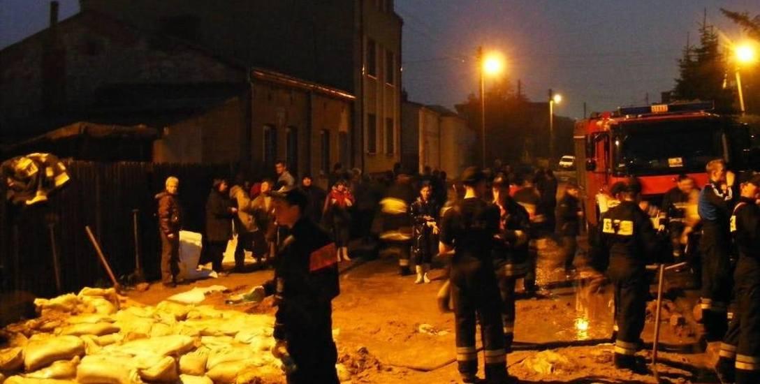 Częstochowa. Kolejne dzielnice zabezpieczane przed powodzią
