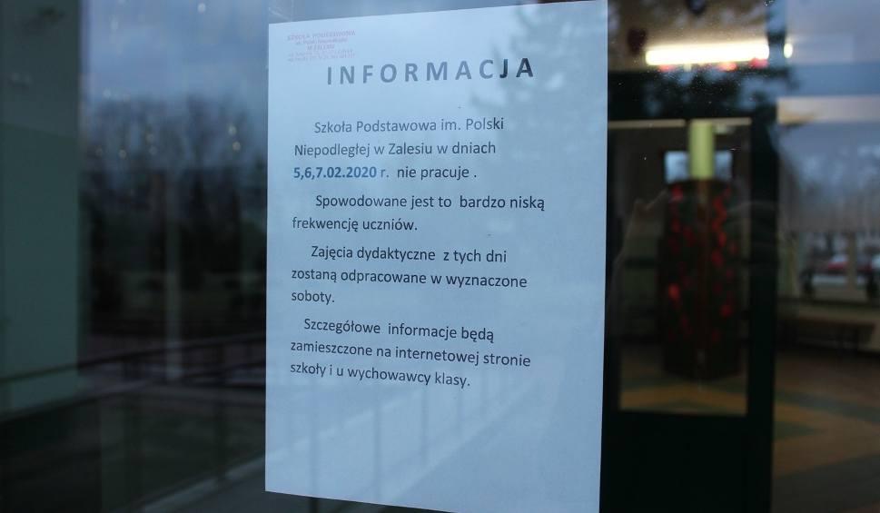 Film do artykułu: Wirus w Zalesiu. Co trzeci uczeń na zwolnieniu lekarskim, odwołane zajęcia i dezynfekcja szkoły