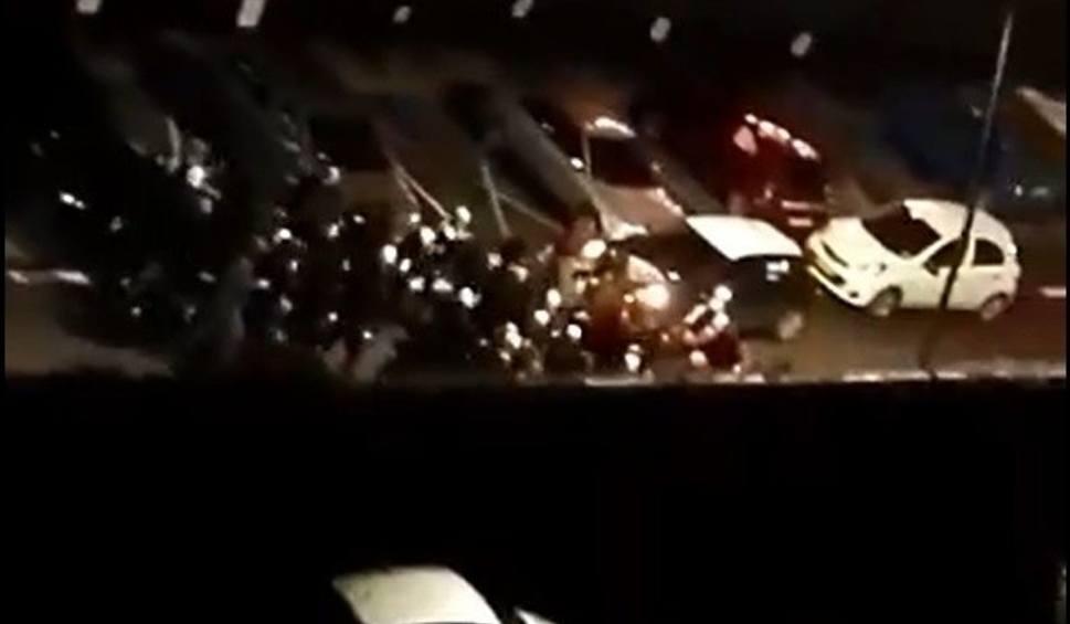 Film do artykułu: Nocna bójka kiboli pod Millenium Hall w Rzeszowie. Starli się kibice Stali i Resovii