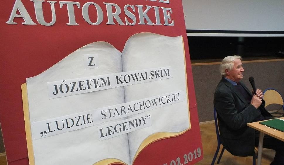 Film do artykułu: Spotkanie autorskie Józefa Kowalskiego, prawdziwej starachowickiej legendy, w Wąchocku