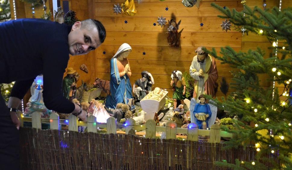 Film do artykułu: W kościele na Wojsławiu powstała ruchoma szopka bożonarodzeniowa. Jej autorem jest prezes SPR Stali Mielec [ZDJĘCIA, WIDEO]