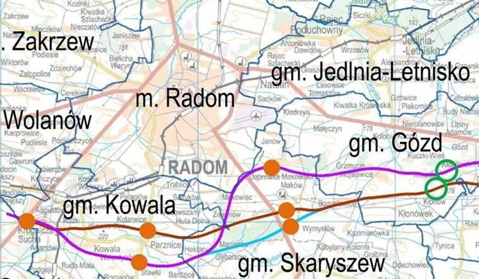 Trasa Ekspresowa S12 W Regionie Radomskim Trzy Warianty Przebiegu