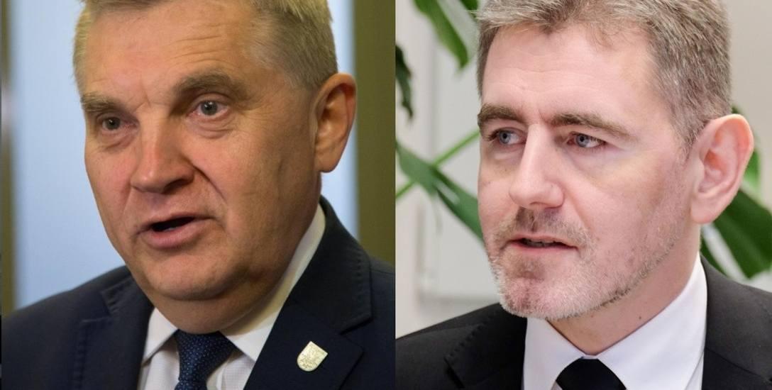 Tadeusz Truskolaski (po lewej) do PO nie należy, jednak już trzecią kadencję współpracuje z  jej działaczami. Czy znów otrzyma poparcie? Z kolei były