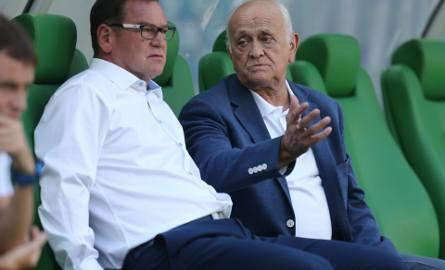 Jan Urban i Andrzej Strejlau
