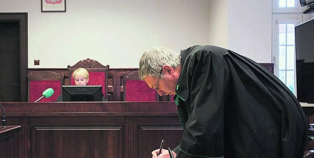Na ogłoszenie wyroku w Sądzie Okręgowym w Słupsku oskarżeni nie przyszli. Na sali był obecny tylko Paweł Skowroński, obrońca Krzysztofa S.