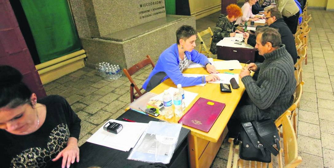 Termin składania wniosków o rekompensatę upłynął 18 listopada. Na zdjęciu punkt w kop. Wieczorek