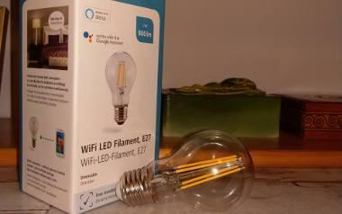 Żarówka wifi Hama LED Filament - nasz-test [film] - Laboratorium odc. 41